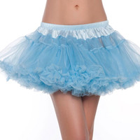 Light Blue Frill Tutu Skirt