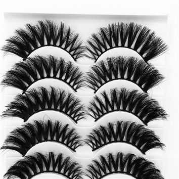 FLUTTERS MINK COLLECTION - 5 Pairs