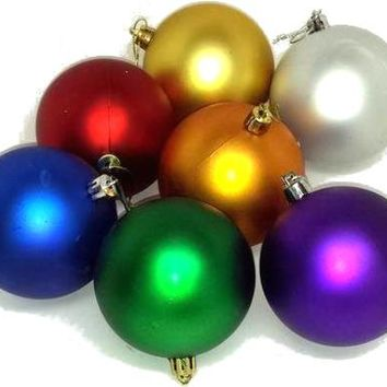 Shatter Resistant Christmas Ornaments