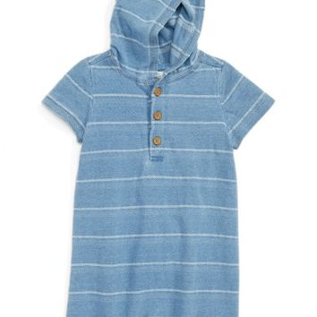 Tucker + Tate Hooded Romper (Baby Boys) | Nordstrom