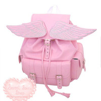 Sweet Soul Shop | Pastel Winged Backpack | Online Store Powered by Storenvy