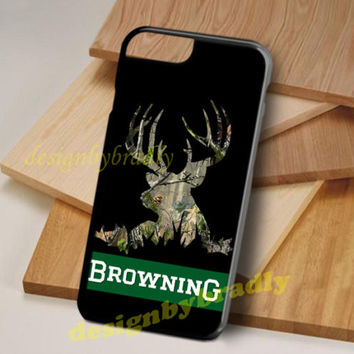 Best Camo Browning Deer For 7 and 7 Plus iPhone Case Cover