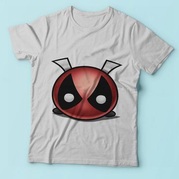 Disney Tsum Tsum Deadpool Funny Men'S T Shirt