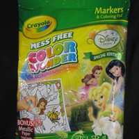 Crayola Mess Free Color Wonder Disney Fairies Special Edition - Tinkerbell and the Great Fairy Rescue