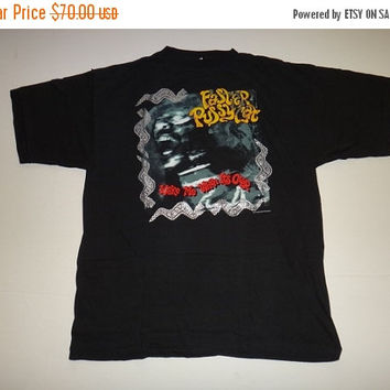 New Year Sale Original Vintage 1989/1990 Faster Pussycat Wake Me When I'ts Over T Shirt Hard Rock Heavy Metal LA Guns Tee Psycobilly Punk Cr
