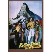 Rolling Stones - Europe 76 Decal