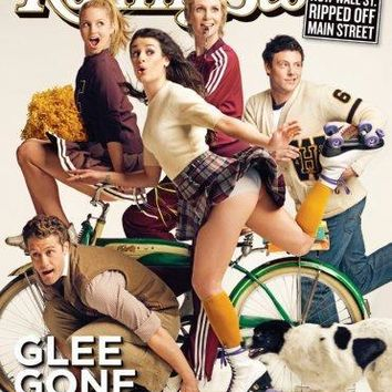 Glee Rolling Stone Cover Metal Print 8in x 12in