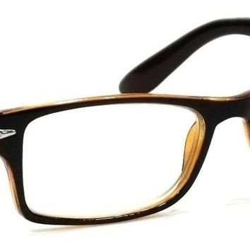 Men Retro Reading Glasses Classic Spring Hinge Frame Reader