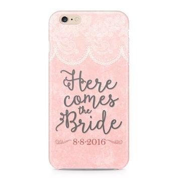 Bride Phone Case - Bride to Be Phone Case - Engaged iPhone Case - Bachelorette - iPhone - Galaxy Phone Case - Custom Phone Case