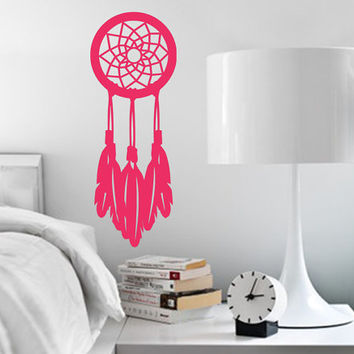 Dream Catcher Wall Decal | Simple Dreamcatcher Wall Decal