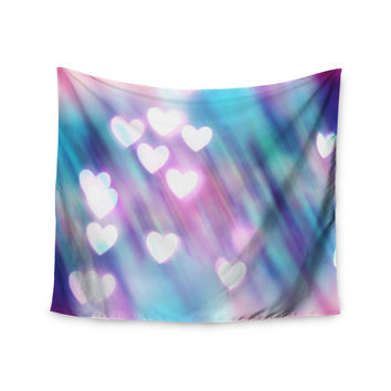 "Beth Engel ""Your Love is Sweet Like Candy"" Heart Wall Tapestry"