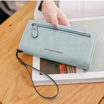 Ladies Bags Korean Wallet Multi-function Purse [11491360340]