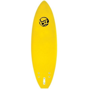 BZ SOFT SURFBOARD NEW MODEL 6' YELLOW