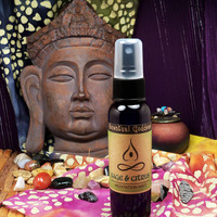 SAGE & CITRUS Meditation Mist Spray Liquid Incense - Clear Your Mind Before You Meditate