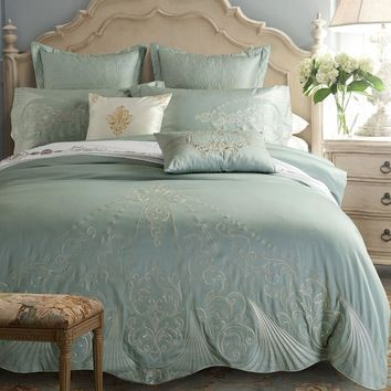Luxury Embroidered Bedding Set