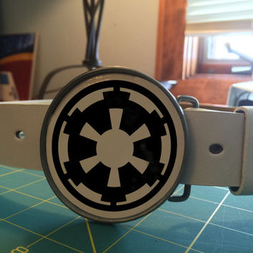 Imperial Belt buckle Star wars themed (With belt of your choice)