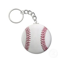 Baseball Key Chain from Zazzle.com
