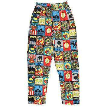 DC Comics Men's Golden Age of Super Heroes Pajama Pants