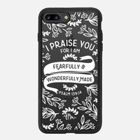 iPhone 7 Case (New Black), Fearfully & Wonderfully Made - White by French Press Mornings | Casetify (iPhone 6s 6 Plus SE 5s 5c & more)