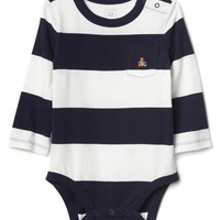 Stripe long sleeve bodysuit | Gap