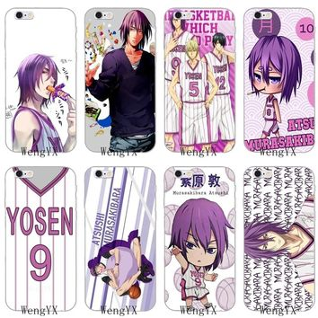japan anime kuroko no basket Murasakibara silicone Soft phone case For LG G2 G3 mini spirit G4 G5 G6 K7 K8 K10 2017 V10 V20 V30