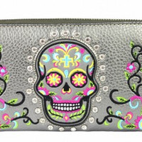Montana West Sugar Skull Wallet