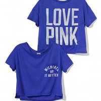 University of Kentucky Drapey Pocket Tee - PINK - Victoria's Secret
