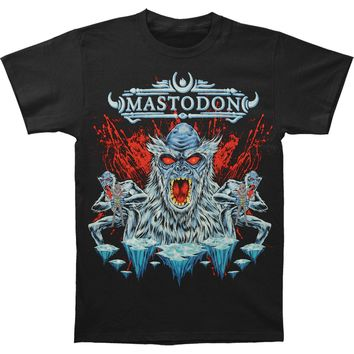 Mastodon Men's  Sasquatch and Aliens Blood Slim Fit T-shirt Black