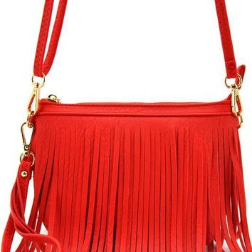 Tag Along Purse: Red