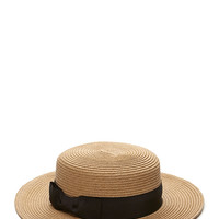 Island Girl Straw Panama Hat