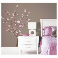 RoomMates Spring Blossom Peel & Stick Giant Wall Decal
