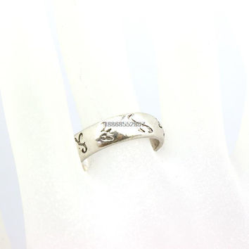 Size 8 Freeshipping  a lot The Mortal Instruments City of Bones Runes Ring