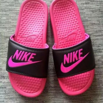 NEW NIKE MEN AND WOMEN SANDALS SLIPPERS SNEAKERS CANVAS