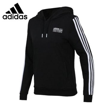 Original New Arrival 2018 Adidas NEO Label CS BBALL HDY Women's Pullover Hoodies Sportswear