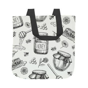 Honey Bee Sweet Tote Bag