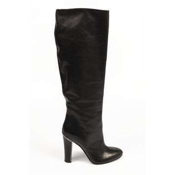 Sebastian Milano ladies high boot S4588 VACCHETTA NAPPA NERO