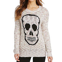 GB Skull Print Sweater - Multi