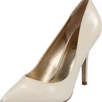 Guess Women`s Mipolia3 Pump,Ivory ,9 M US