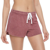 Juniors' SO® French Terry Lounge Shorts | null