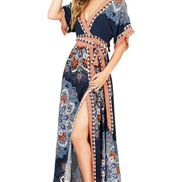 Morocco Split Maxi Dress