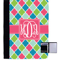 Monogrammed Printed Pattern Large Notebook | School Accessories | Marley Lilly