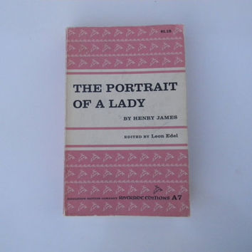 The Portrait of a Lady by Henry James vintage paperback book