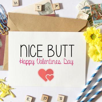 Naughty Valentine Card For Boyfriend-Funny-For Him-Sexy-Mature