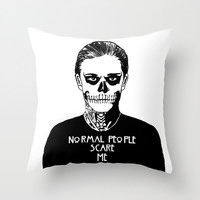 Tate Feels Like Throw Pillow by Mark Cox