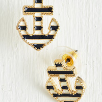 Nautical The Long and Port of It Earrings by ModCloth