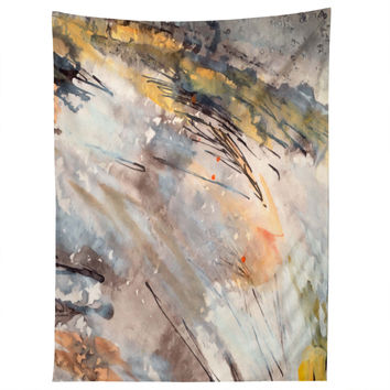 Ginette Fine Art Feathers In The Wind Tapestry