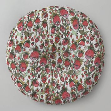 Floor Meditation Cushions 'Strawberry Friends'