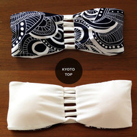 KYOTO TOP - Handmade Reversible Bandeau Strap Top