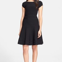 Women's kate spade new york cap sleeve scuba dress,