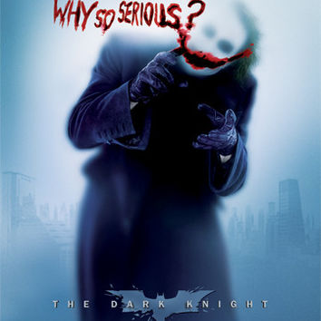 Batman Why so serious Poster